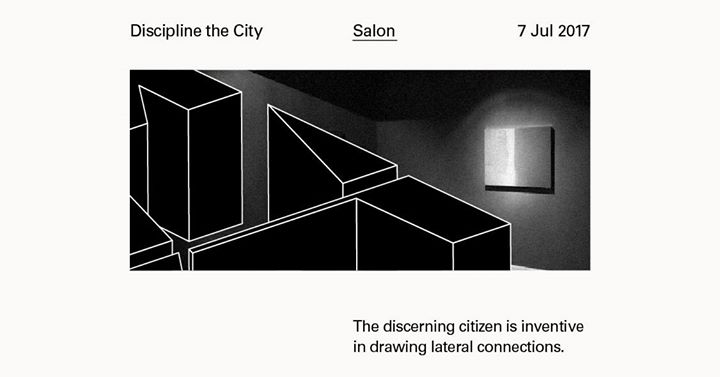 The Substation - Salon series - Abstraction and the City