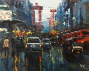 Dusit – China Town 10 – 100 x 80 – 15-6