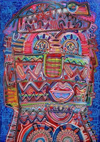 Jakkrit - Painting 46 - 120 x 170 - 35