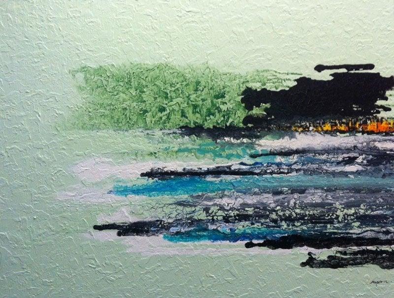 Mam - The Sea 27 - 110 x 90 - 12