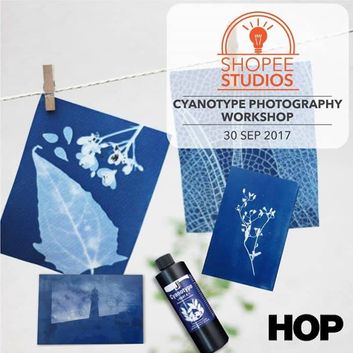 Shopee HQ - Cyanotype Photography Workshop