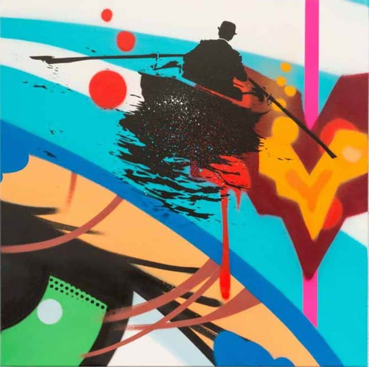 Above Second Gallery - The Collaborations by Nick Walker, Bio, Crash