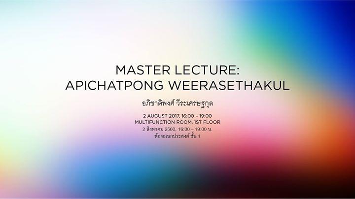 BACC - Master Lecture : Apichatpong Weerasethakul