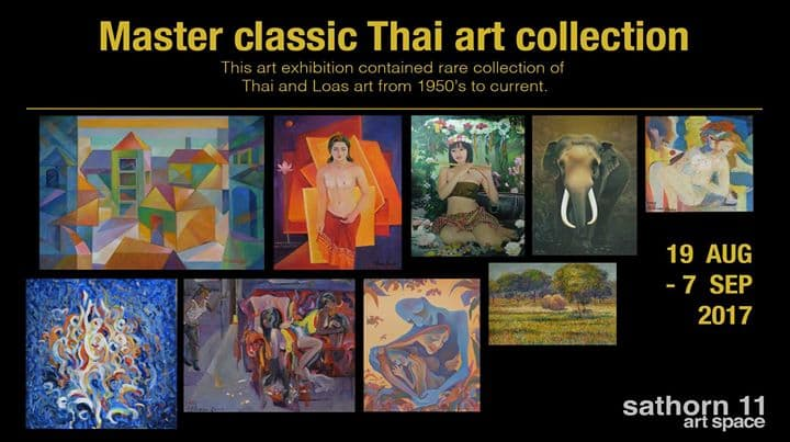 Sathorn 11 Art Space - Master classic Thai art collection