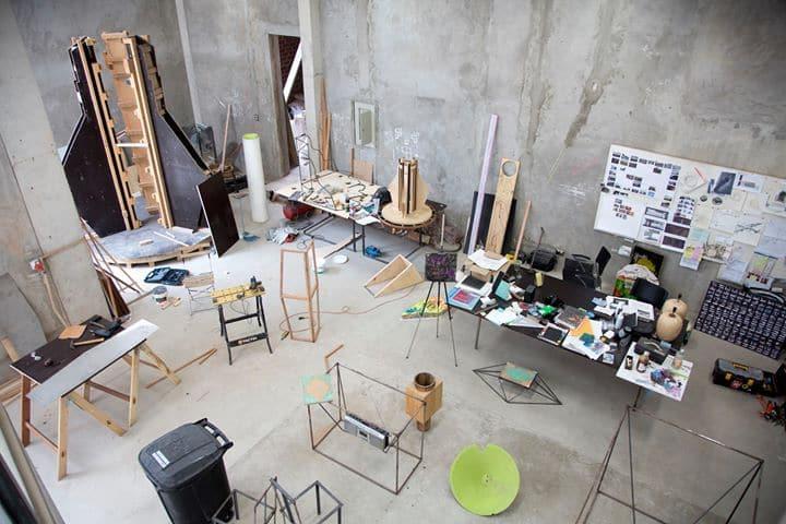 NTU CCA Singapore - Open Studio by Miguel Andrade Valdez