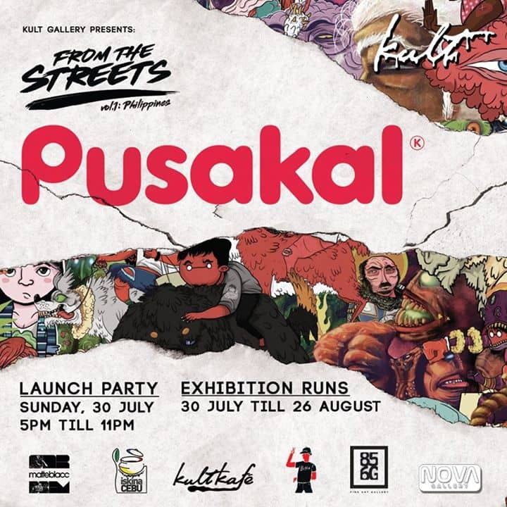Kult Gallery - Pusakal: From the Streets of the Philippines' Launch