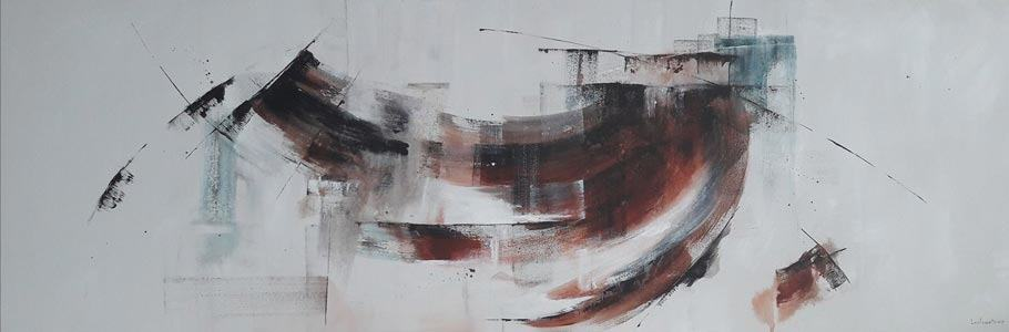 Natcharee - Abstract 19 - 180 x 60 - 5-5