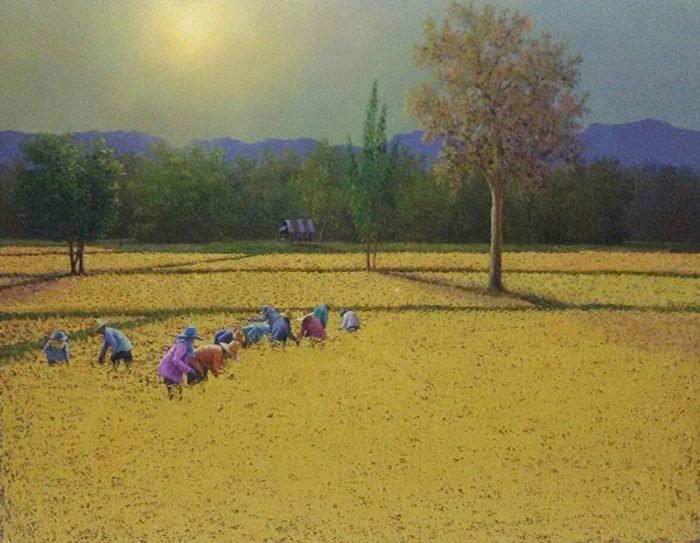 Anurak - Farmers 49 - 130 x 110 - 18