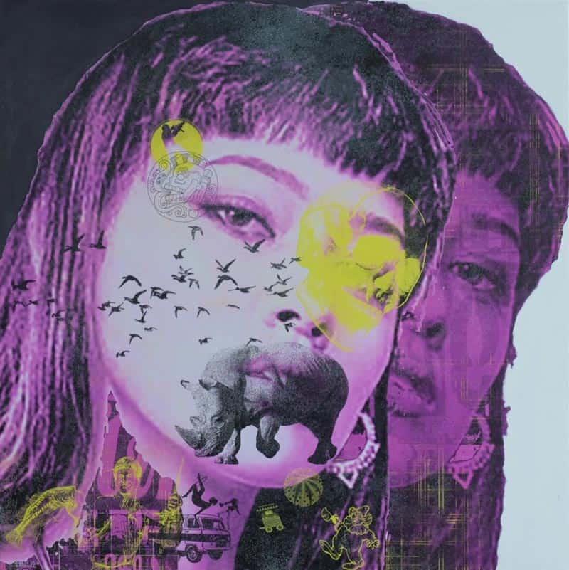 Kee - Pop Art 15 - 80 x 80 - 15
