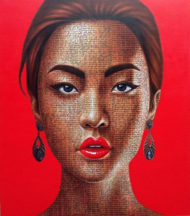 Petch - Portrait 74 - 140 x 160 - 38