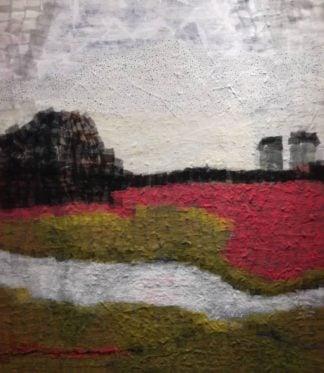 Tanarug - Collage Fabric Scenery 02 - 130 X 150 - 25