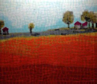 Tanarug - Collage Fabric Scenery 03 - 150 X 130 - 25