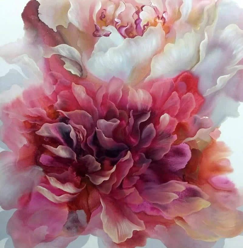 Tor - Flower 35 - 120 x 120 - 18