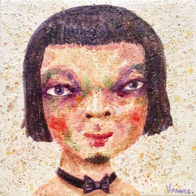 Vipanee - Small Portrait 03 - 20 x 20 - 2