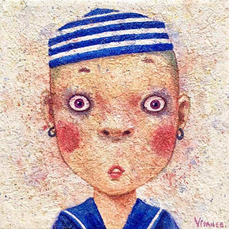 Vipanee - Small Portrait 05 - 20 x 20 - 2