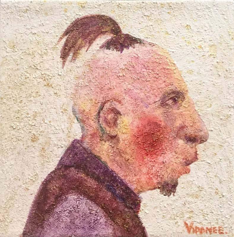 Vipanee - Small Portrait 06 - 20 x 20 - 2