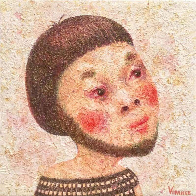Vipanee - Small Portrait 08 - 20 x 20 - 2