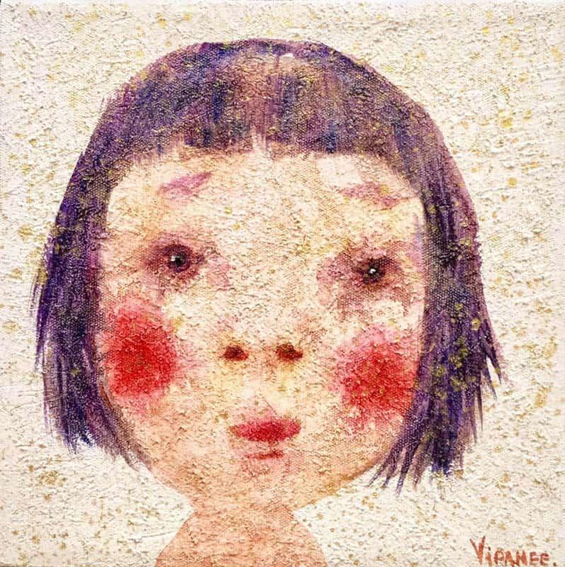 Vipanee - Small Portrait 09 - 20 x 20 - 2