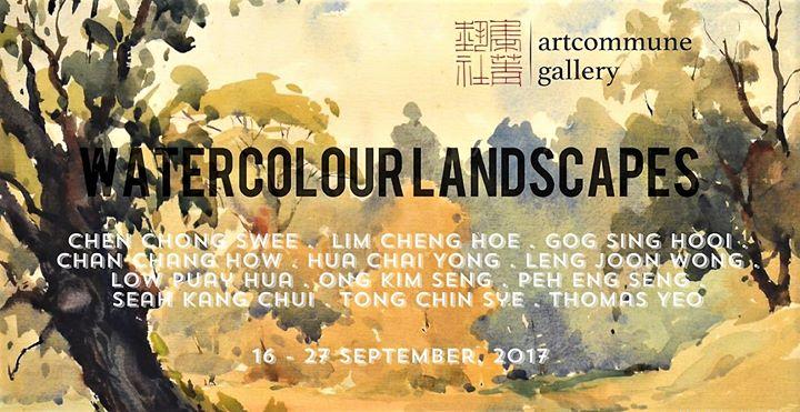 Artcommune Gallery - Khor Ean Ghee - Watercolour Landscapes