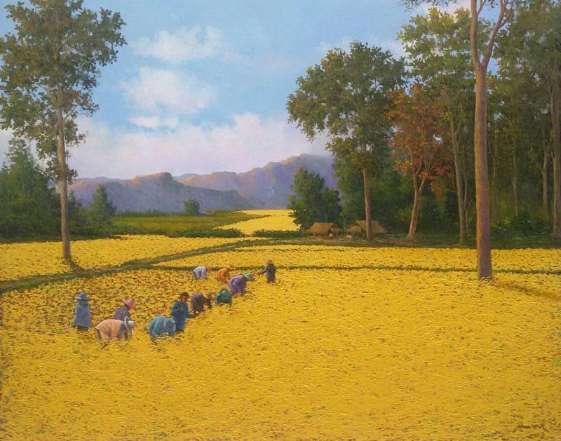 Anurak - Farmers 52 - 140 x 110 - 20
