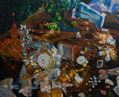 Apichaya - Scrap no.2 - 100 x 80 - 15