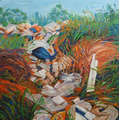 Apichaya - Waste Waterfall - 150 x 150 - 8