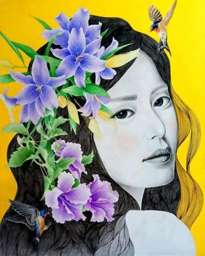 Chatchai - Portrait 02 - 80 x 100 - 15