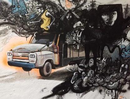 Gee - Truck Me in the dark - 140 x 110 - 28