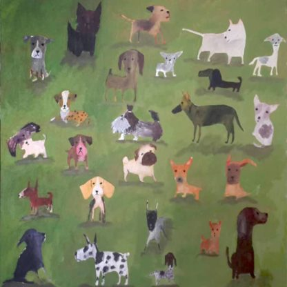 Ja - Dogs - 90 x 90 - 7
