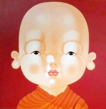 Lek - Child Monk 18 - 120 x 120 - 30