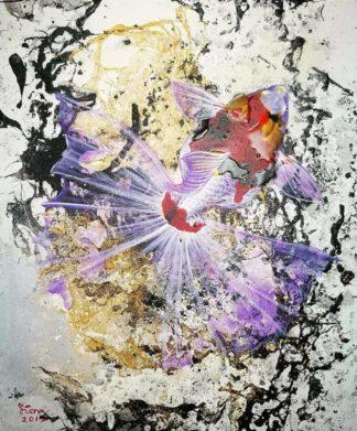 Tanida - Gold Fish 01 - 50 x 60 - 4