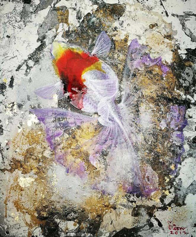 Tanida - Gold Fish 03 - 50 x 60 - 4