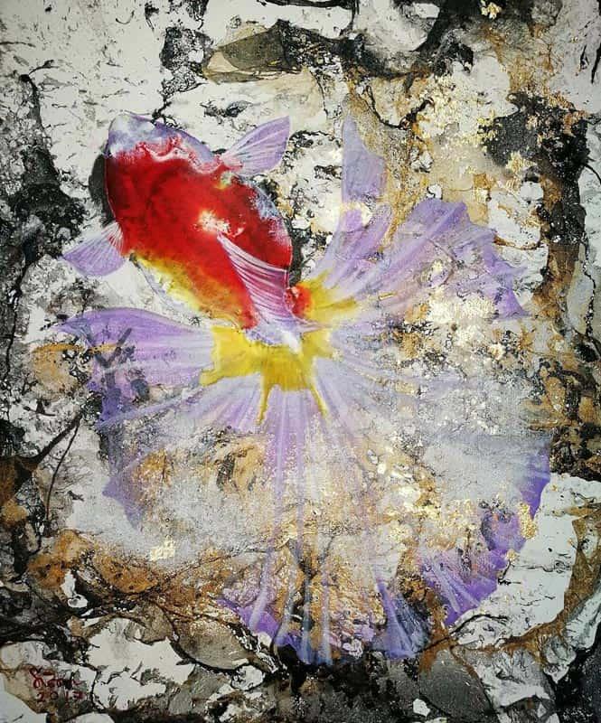 Tanida - Gold Fish 04 - 50 x 60 - 4