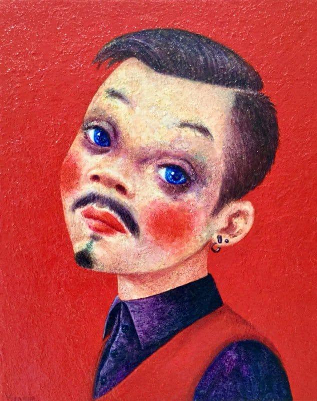 Vipanee - Portrait 12 - 40 x 50 - 6-5