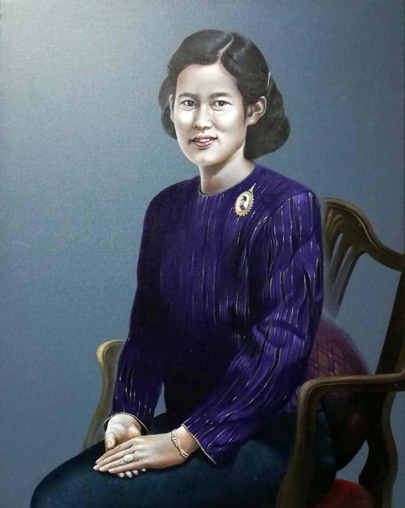 Yun - Princess of Siam- 40 x 50 - 9