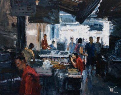 Dusit - Jabkang noodle shop - 130 x 100 - 23-4