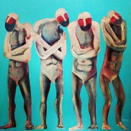 Kitti - Shivering Men - 80 x 80 - 4-5
