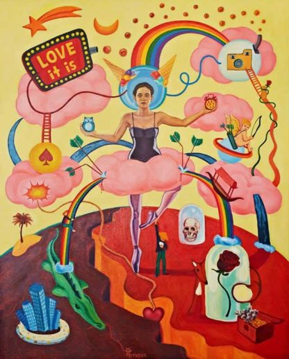 Melanie - Love It Is - 80 x 100 - 53-1