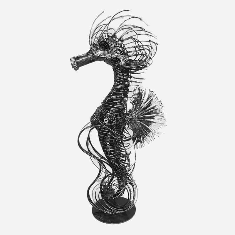 Pui - The Sea Horse - 3 - 37 x 20 x 100 - 38