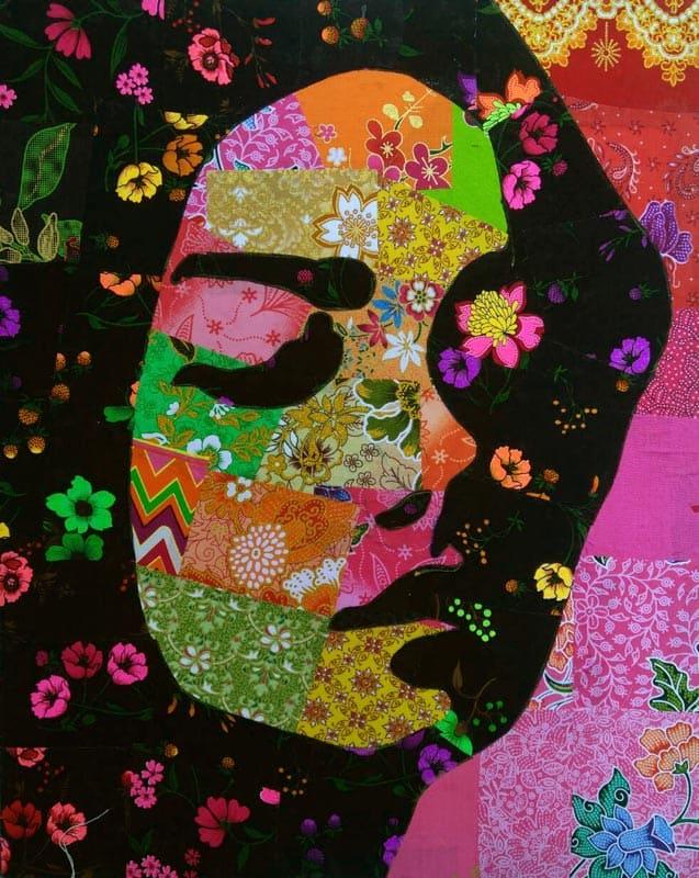 Tanawat - Small Collage Portrait 14 - 40 x 50 - 2-5