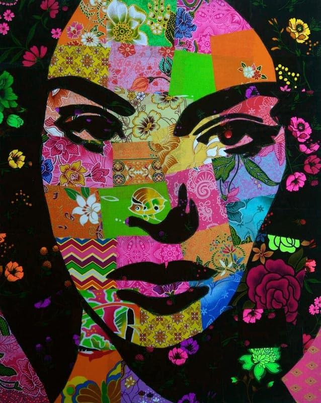 Tanawat - Small Collage Portrait 18 - 40 x 50 - 2-5