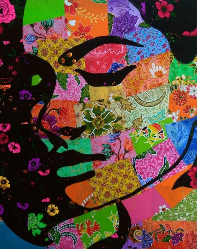 Tanawat - Small Collage Portrait 19 - 40 x 50 - 2-5
