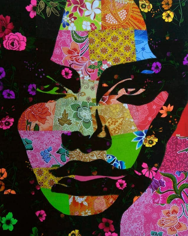 Tanawat - Small Collage Portrait 20 - 40 x 50 - 2-5