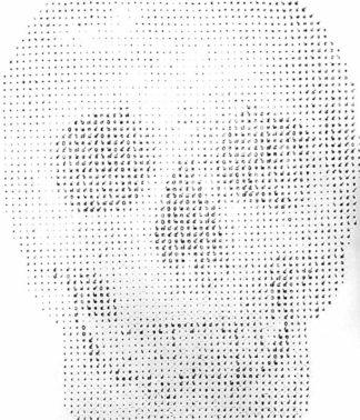 Anuchit - Skull - 150 x 170 - 35