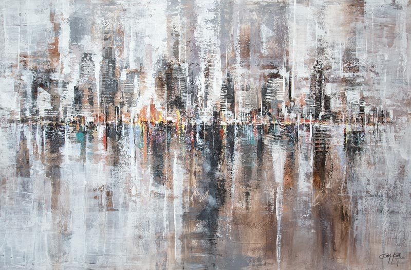 Gittisak - Windy City - 150 x 100 - 15