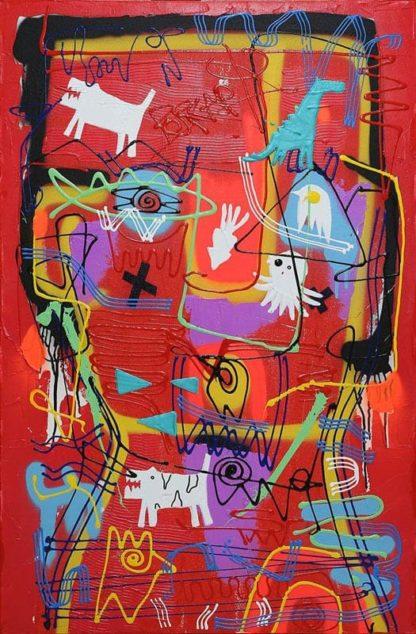 Jakkrit - Painting 57 - 80 x 120 - 20
