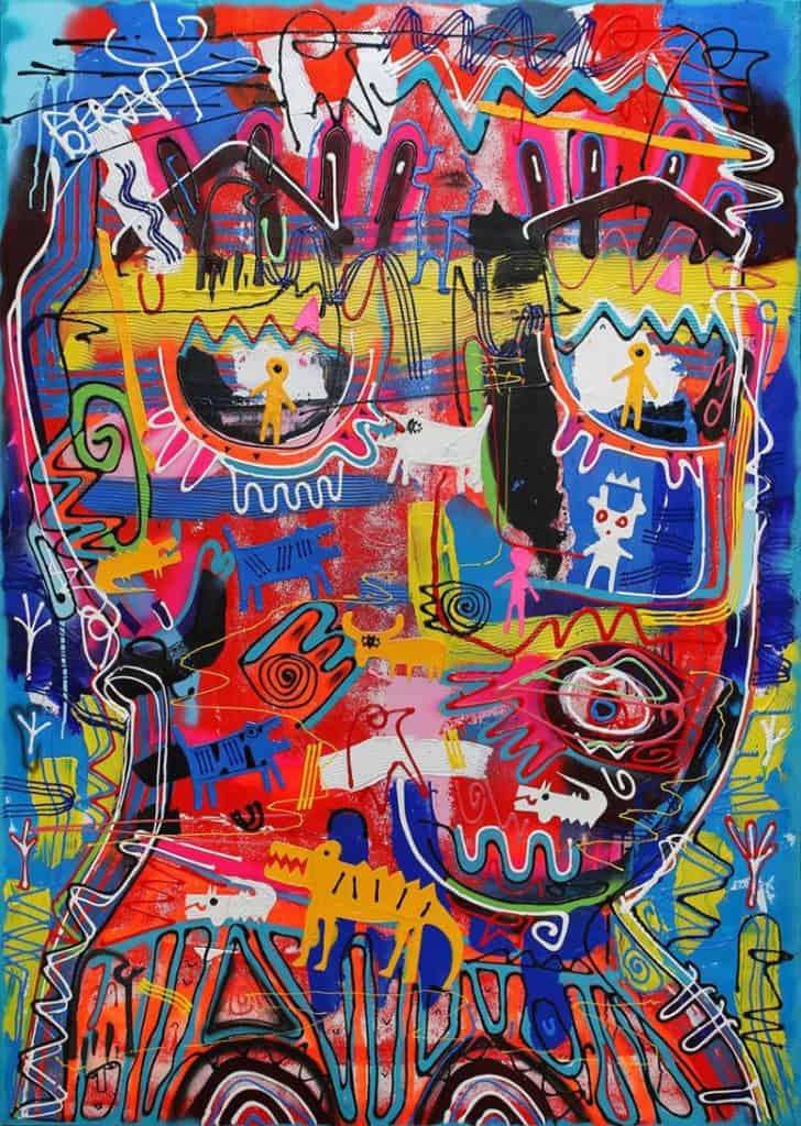 Jakkrit - Painting 59 - 120 x 170 - 35