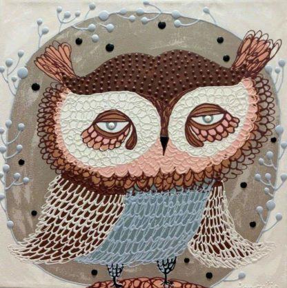 Kamontip - Owl 20 - 50 x 50 - 3