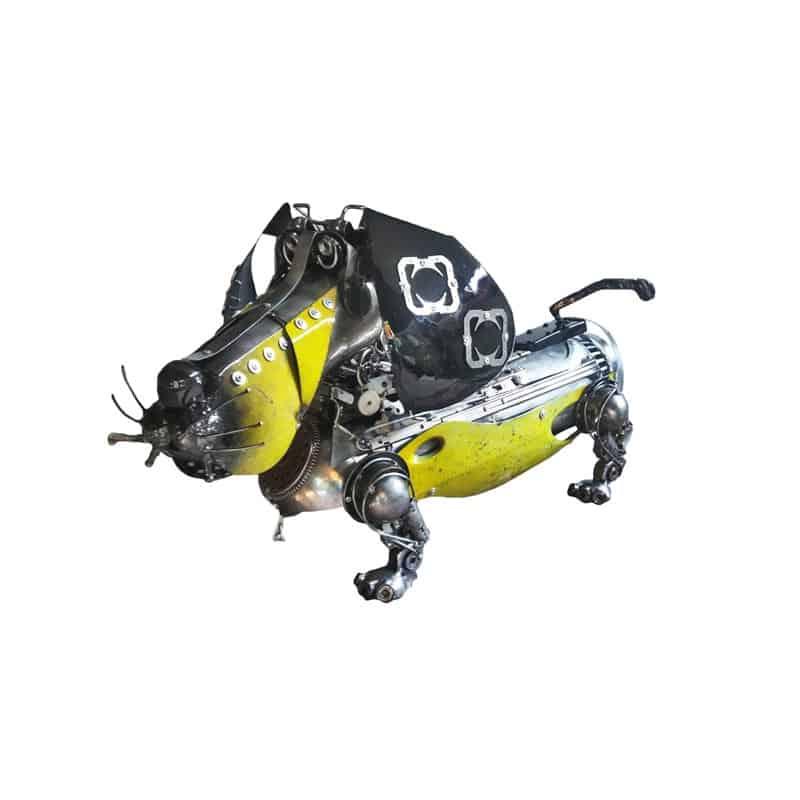 Pui - The Yellow Dog - 01 - 39 x 67 x 28 - 20