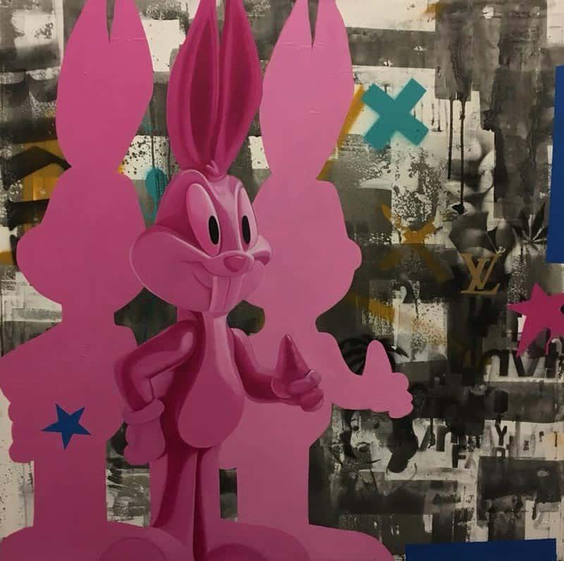 SOS - Bugs Bunny - 100 x 100 - 20
